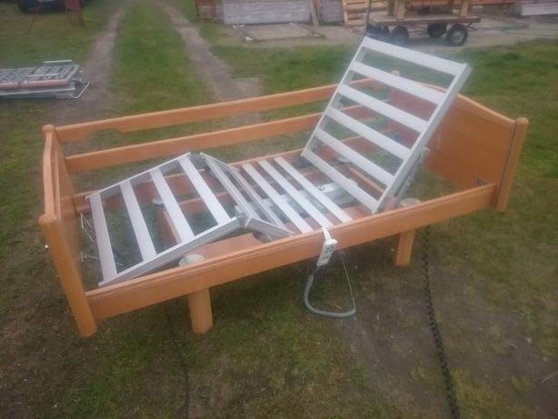 Łóżko rehabilitacyjne - łóżko elektryczne na pilota - materac + gratis