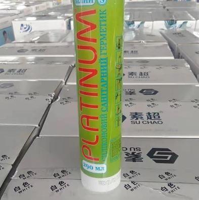 Герметик универсальный Platinum прозрачный 290 мл (24шт)