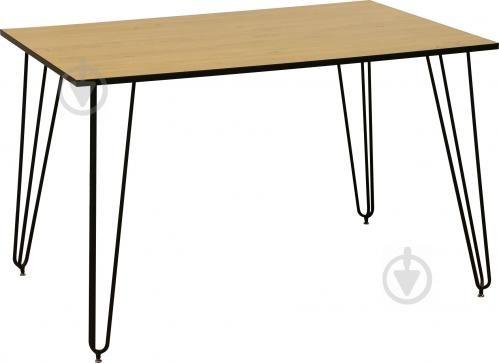 Стол обеденный Nowy Styl Aller LOFT 1200x800x750 мм дуб каменный ЛОФТ