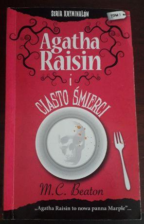 "M.C. Beaton ""Agatha Raisin i ciasto śmierci"""