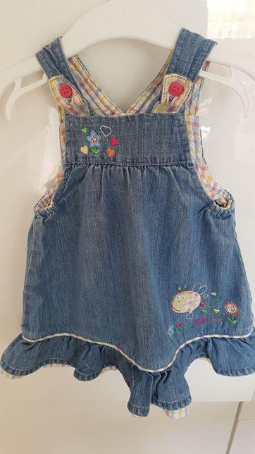Sukienka jeansowa r.68