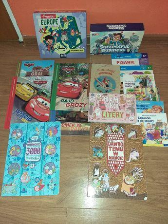 Książki i gry dla dzieci