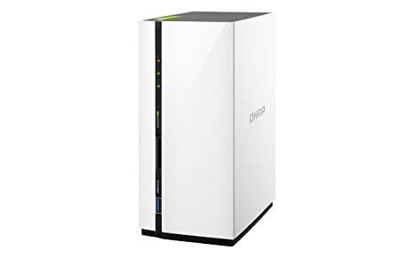 NAS QNAP TS-228 de 2 baías (2 discos) processador 1,1GHz dual-core