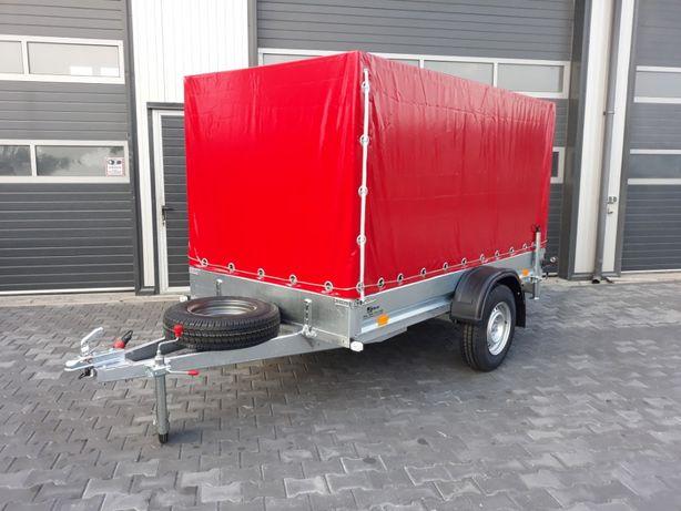 Przyczepa Przyczepka Samochodowa SIDECAR 300x156 750 kg z Transportem