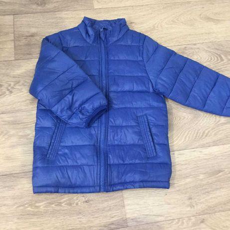 Куртка синяя на 3-4 года