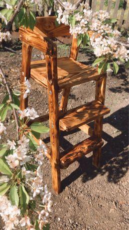 Растущий стульчик стульчик-помощница/изделия из дерева