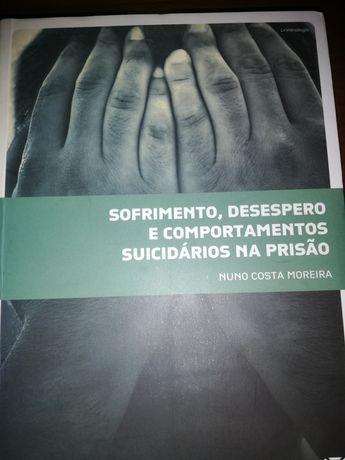 """Livro """"sofrimento desperto e comportamentos suicidarios na prisão de"""