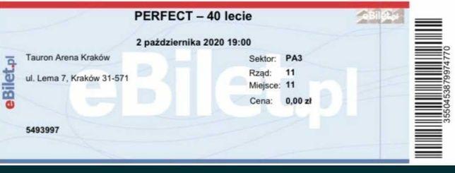 Bilet Koncert Perfect Kraków