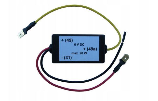 Przerywacz kierunkowskazów LED 6V MZ Simson Jawa