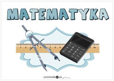 Korepetycje MATEMATYKA  klasy I-VIII