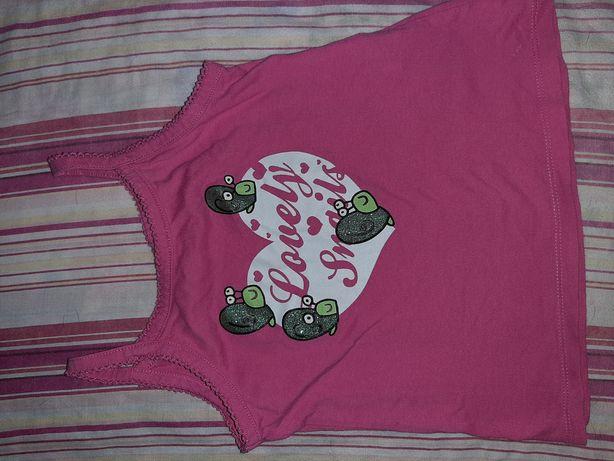 Camisola menina cor de rosa