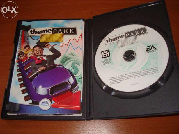 """Jogo """"Theme Park Inc Classic"""" para PC"""