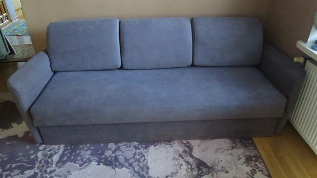 Łóżko, kanapa prawie nowa, bardzo duża