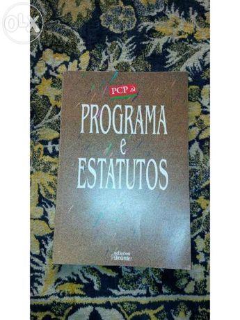 Programa e estatutos pcp 1993 - oferta de portes