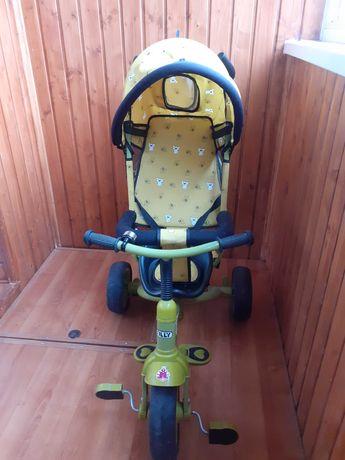Детский велосипед tilli combi trike