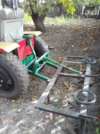 продам тракторец прицеп культиватор