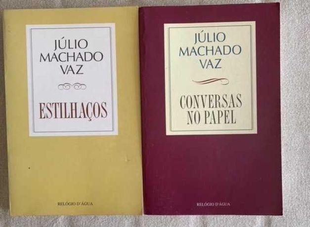 Júlio Machado Vaz - Estilhaços e Conversas no Papel