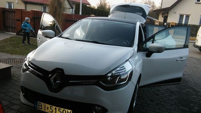 Renault clio IV 1,5 dci- komplet kól zimowych