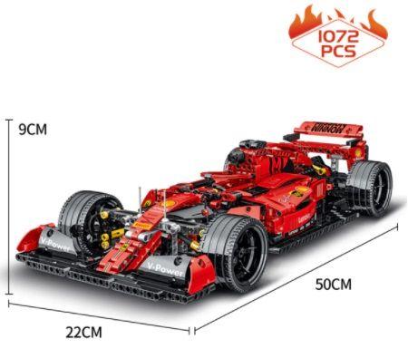 LEGO TECHNIC FORMUŁA F1 50 CM!! 1072 klocki