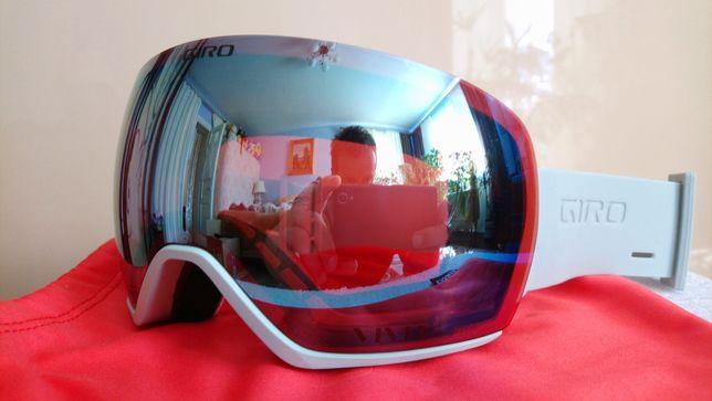 Очки маска лыжная горнолыжная GIRO LUSI +линза