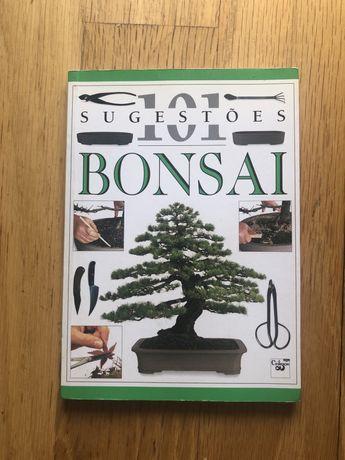Livro sobre bonsais