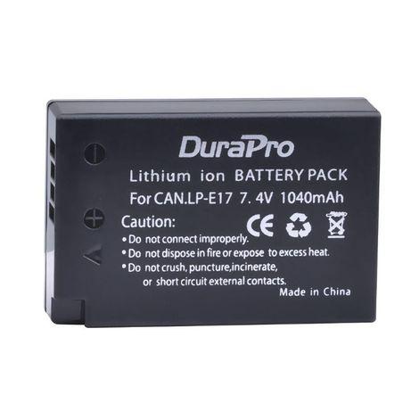 Аккумулятор DuraPro LP-E17 для Canon M3 M5 750D 760D 77D 800D 8000D
