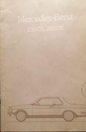 Prospekt Mercedes C123
