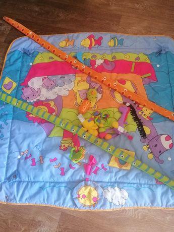 Детский коврик с дугами