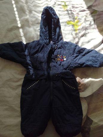 Kombinezon zimowy, kurtka rozm 68/74 dla chlopca i dziewczynki
