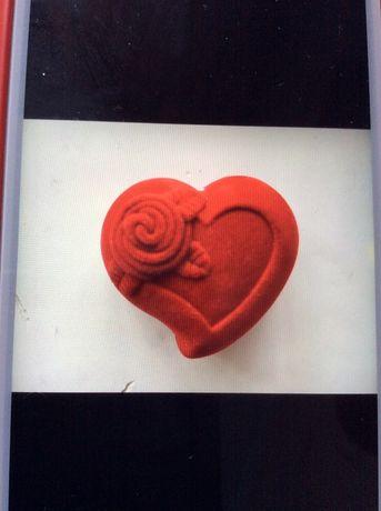 Подарочная коробка. Футляр. Сердечко. Сердце. Для кольца. Для сережек.