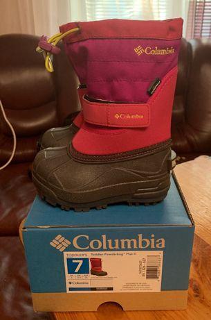 Продам зимние сапожки Columbia