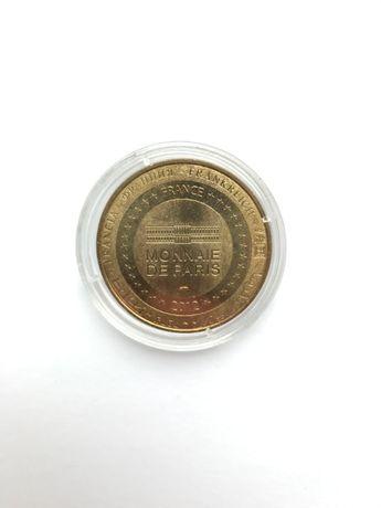 Монета Франция - Евро 2012, Украина-Харьков