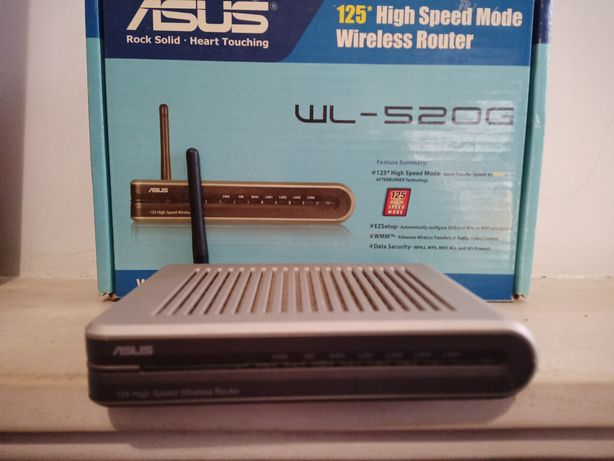 Router ASUS wl-520g