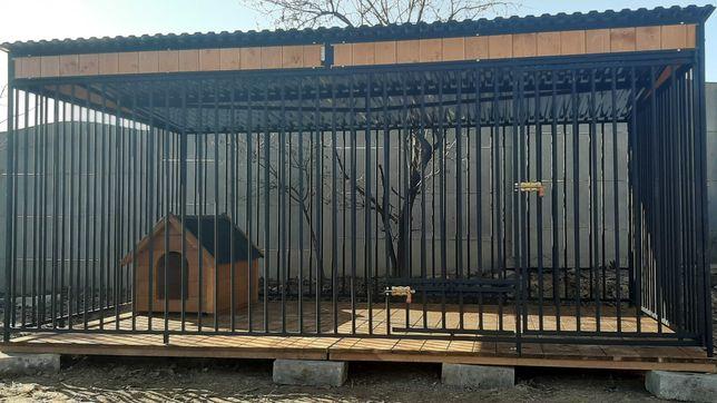 Kojec dla psa 3x2m, Kojce boksy. Schowki drewniane - różne wzory!