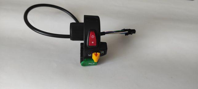 Переключатель пульт свет сигнал поворотники электровелосипед байк мото