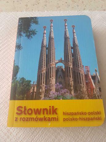 Słownik z rozmówkami hiszpańsko-polski i polsko-hiszpański