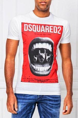 Dsquared2 t-shirt white 100 % oryginal D2#T-shirt Philipp Plein EA7