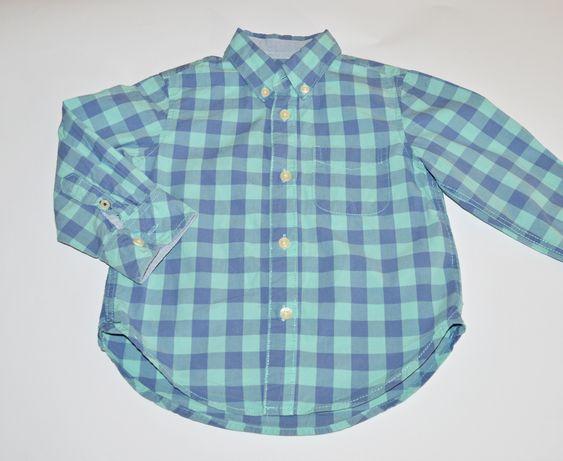 Koszula w kratę H&M roz.92