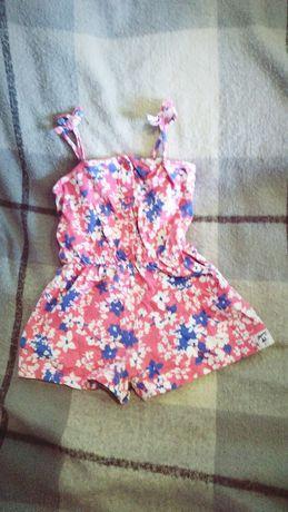 Летние вещи на девочку  платья комбинезоны до2лет