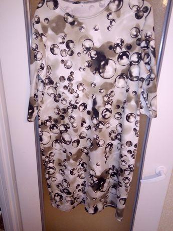 Bąbelkowa sukienka rozmiar 48