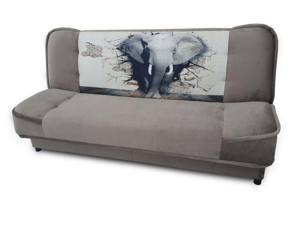 Kanapa Mona młodzieżowa rozkładana wersalka łóżko sofa tapczan bonell