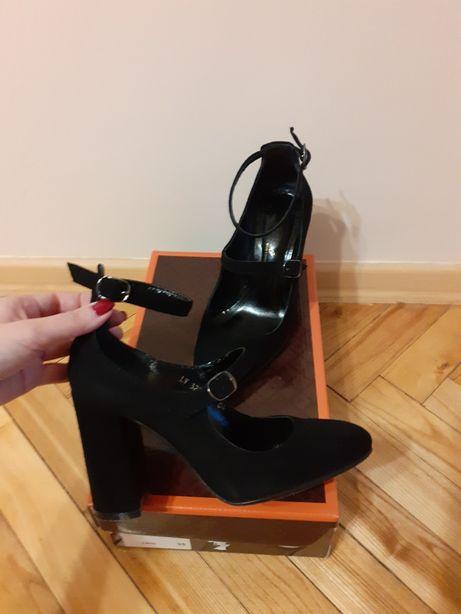 Замшевые туфли 35р Lirio