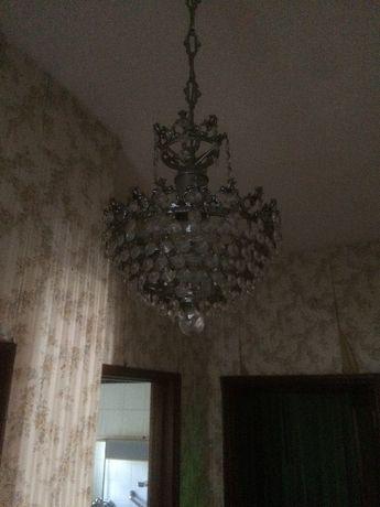Candeeiros de teto cristal
