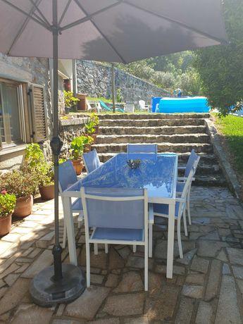 Casa de Férias V6 com piscina e trampolim