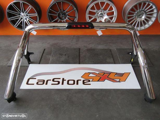 Rollbar Original Ford Ranger 2012+ Com 3 Stop e Iluminação