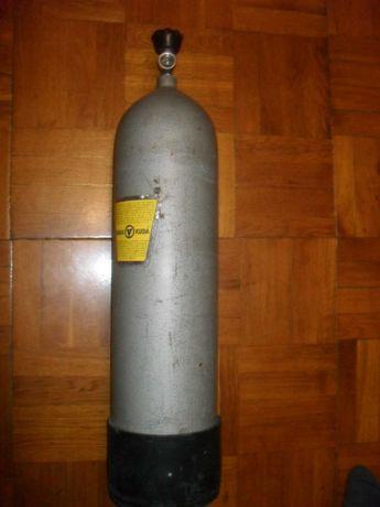 Баллон BARRAKUDA ( Германия )  12 литров ( опресован ) для дайвинга .