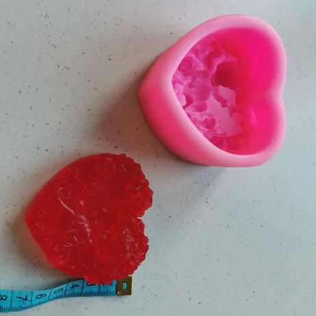 Forma silikonowa mydło amorek walentynki