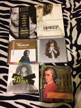 Płyty CD, muzyka, filmy