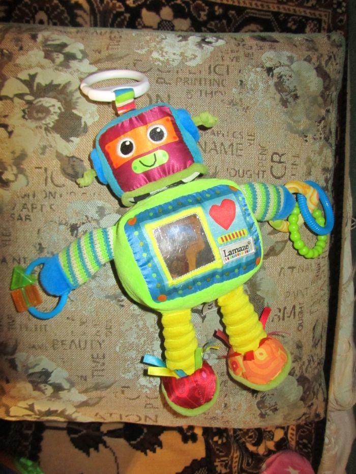 Подвесная игрушка на кроватку Робот + ПОДАРОК Киев - изображение 1