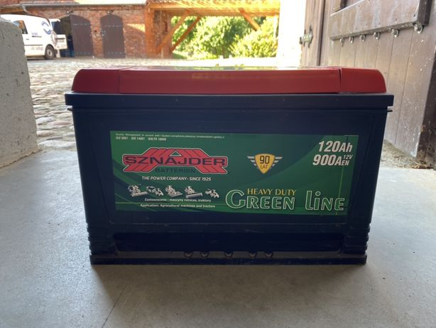 Akumulator Sznajder Green Line 120Ah 900Aen 12v